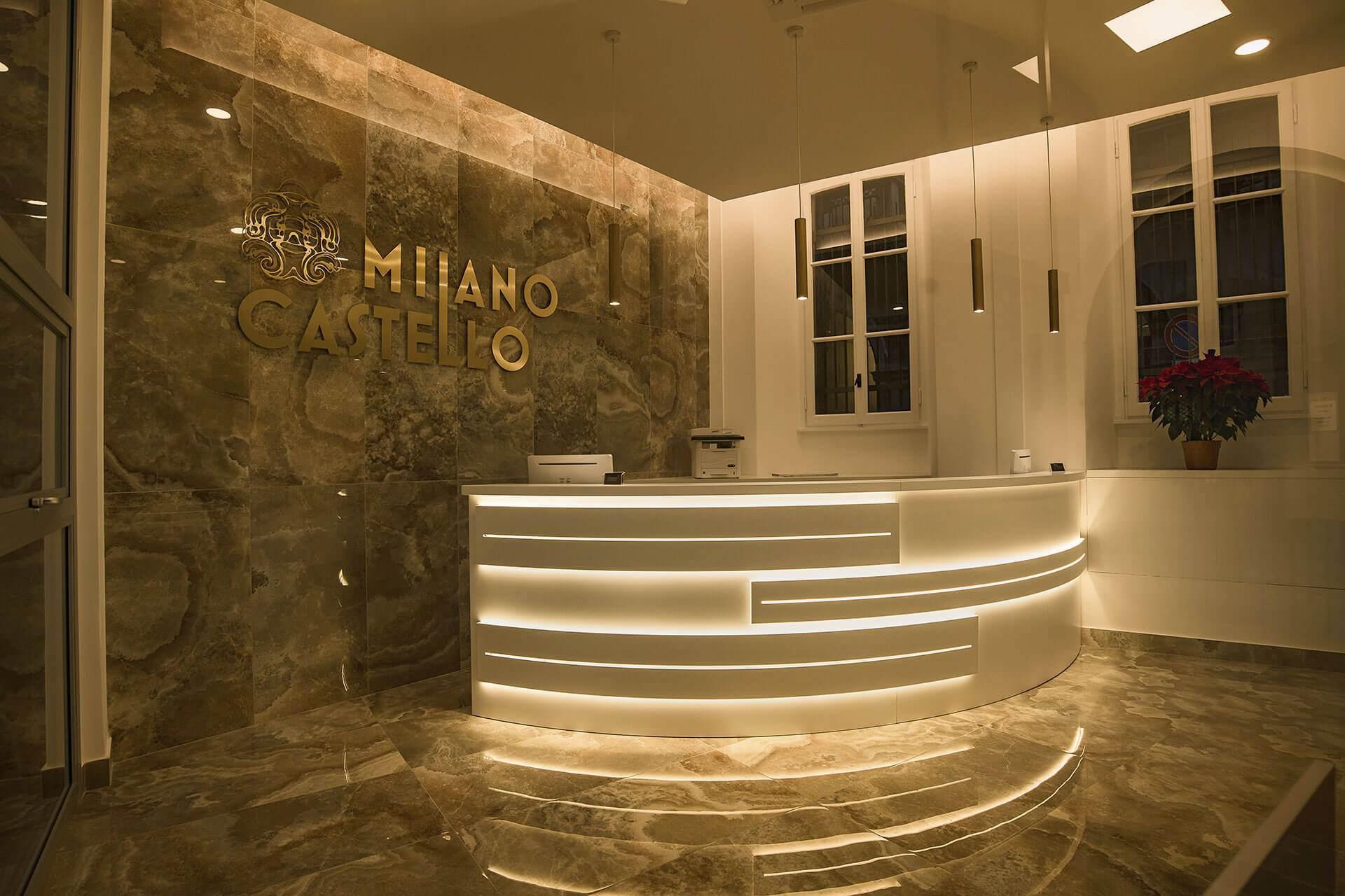hotel milano castello sito ufficiale design hotel milano